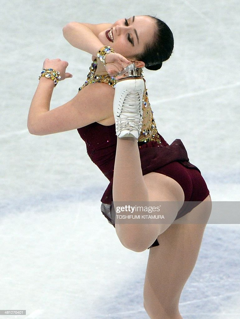 Kaetlyn Osmond of Canada performs during her free skating in the women's singles at the world figure skating championships in Saitama on March 29, 2014.