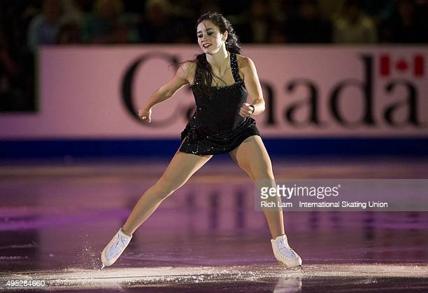 Kaetlyn Osmond of Canada performs during the Exhibition Gala on day three of Skate Canada International ISU Grand Prix of Figure Skating November...