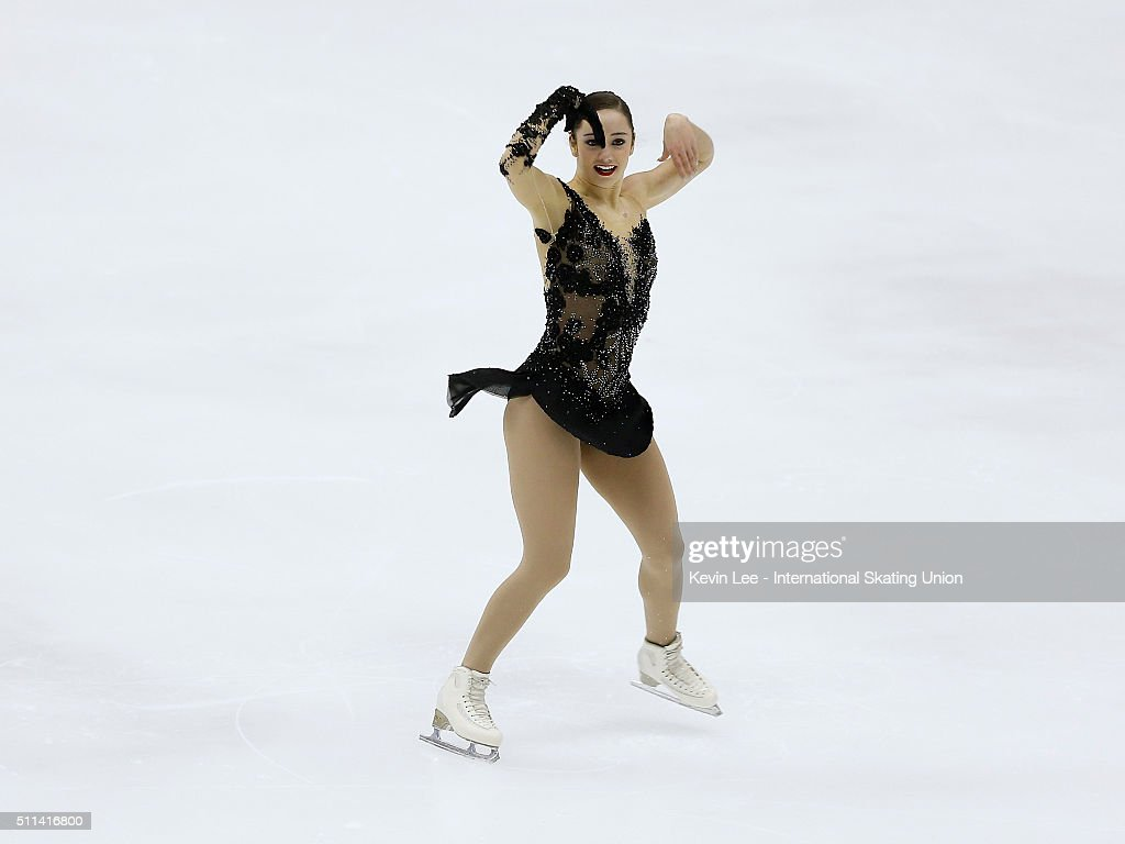 <a gi-track='captionPersonalityLinkClicked' href=/galleries/search?phrase=Kaetlyn+Osmond&family=editorial&specificpeople=9891099 ng-click='$event.stopPropagation()'>Kaetlyn Osmond</a> of Canada performs during the Ladies Free Skating on day three of the ISU Four Continents Figure Skating Championships 2016 at Taipei Arena on February 20, 2016 in Taipei City, Taiwan.