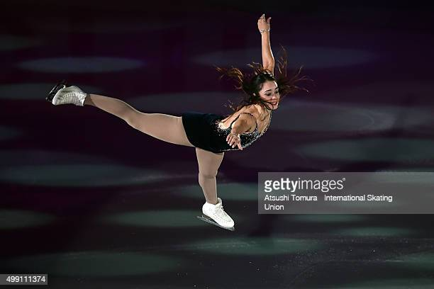 Kaetlyn Osmond of Canada performs in the gala exhibition during the day three of the NHK Trophy ISU Grand Prix of Figure Skating 2015 at the Big Hat...