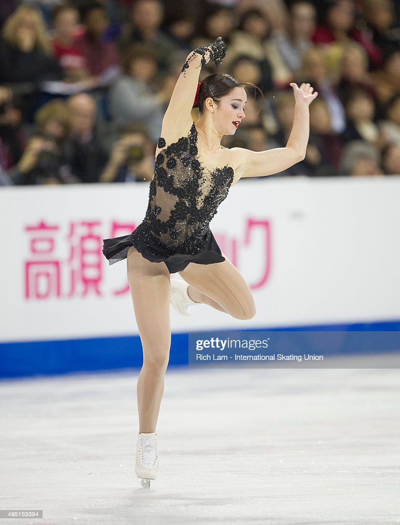 <a gi-track='captionPersonalityLinkClicked' href=/galleries/search?phrase=Kaetlyn+Osmond&family=editorial&specificpeople=9891099 ng-click='$event.stopPropagation()'>Kaetlyn Osmond</a> of Canada skates while competing in the Ladies Free Skate on day two of Skate Canada International ISU Grand Prix of Figure Skating, October, 31, 2015 at ENMAX Centre in Lethbridge, Alberta, Canada.