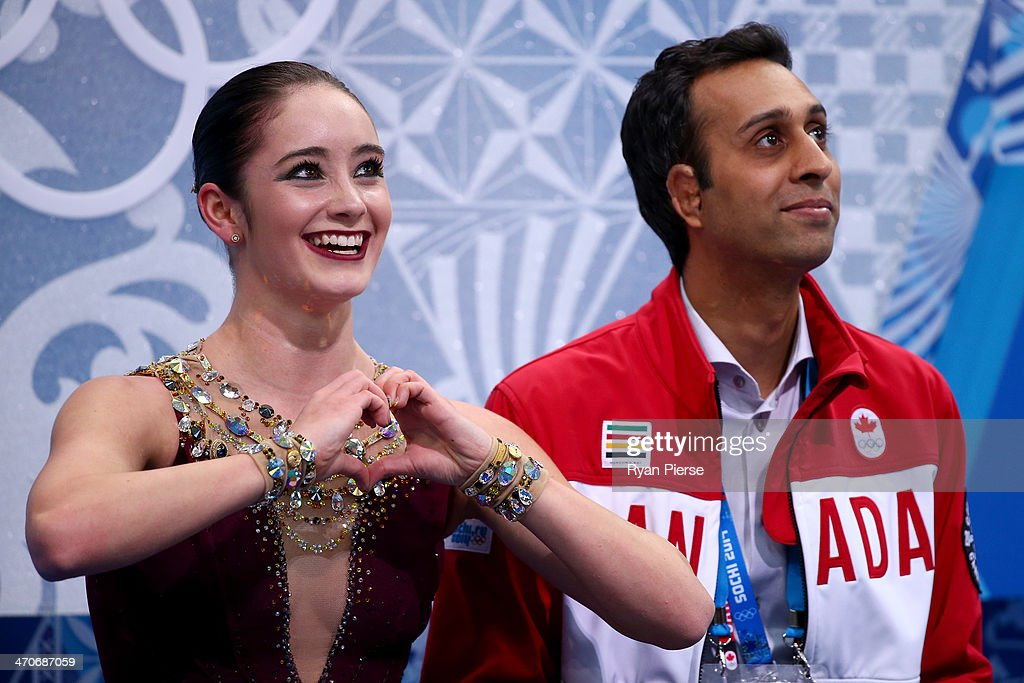 <a gi-track='captionPersonalityLinkClicked' href=/galleries/search?phrase=Kaetlyn+Osmond&family=editorial&specificpeople=9891099 ng-click='$event.stopPropagation()'>Kaetlyn Osmond</a> of Canada waits for her score in the Figure Skating Ladies' Free Skating on day 13 of the Sochi 2014 Winter Olympics at Iceberg Skating Palace on February 20, 2014 in Sochi, Russia.