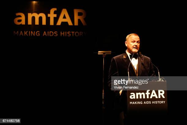 Kaevin Frost attends 2016 amfAR Inspiration Gala on April 27 2017 in Sao Paulo Brazil