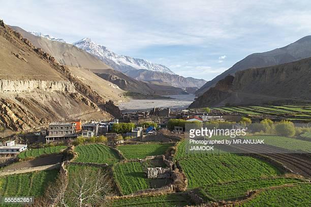 Kagbeni Town in Mustang, Nepal