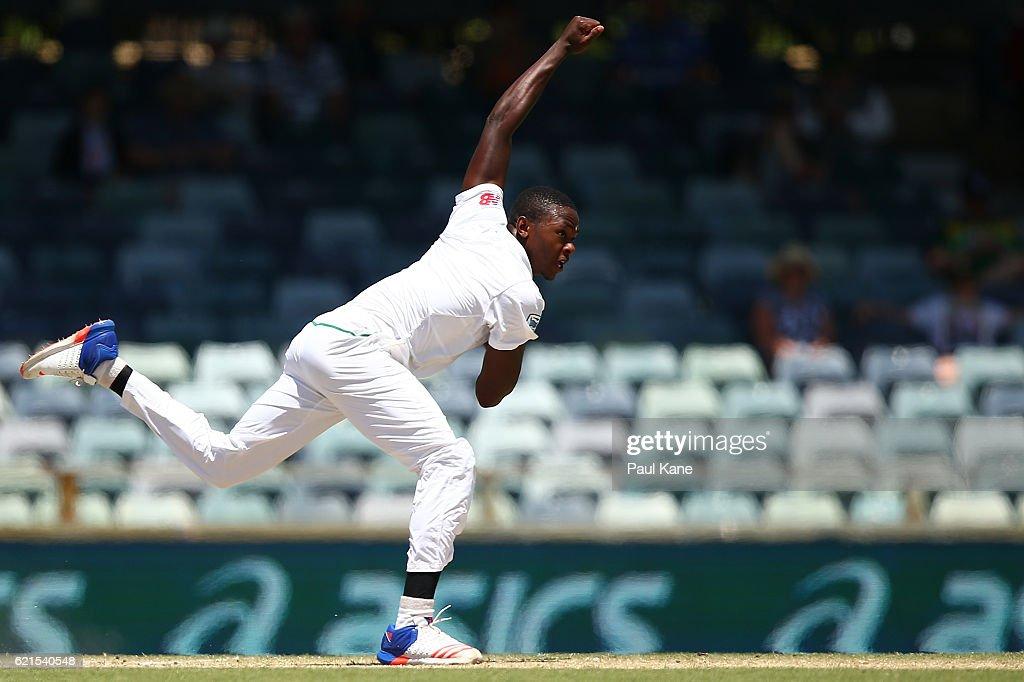 1st Test - Australia v South Africa: Day 5 : News Photo