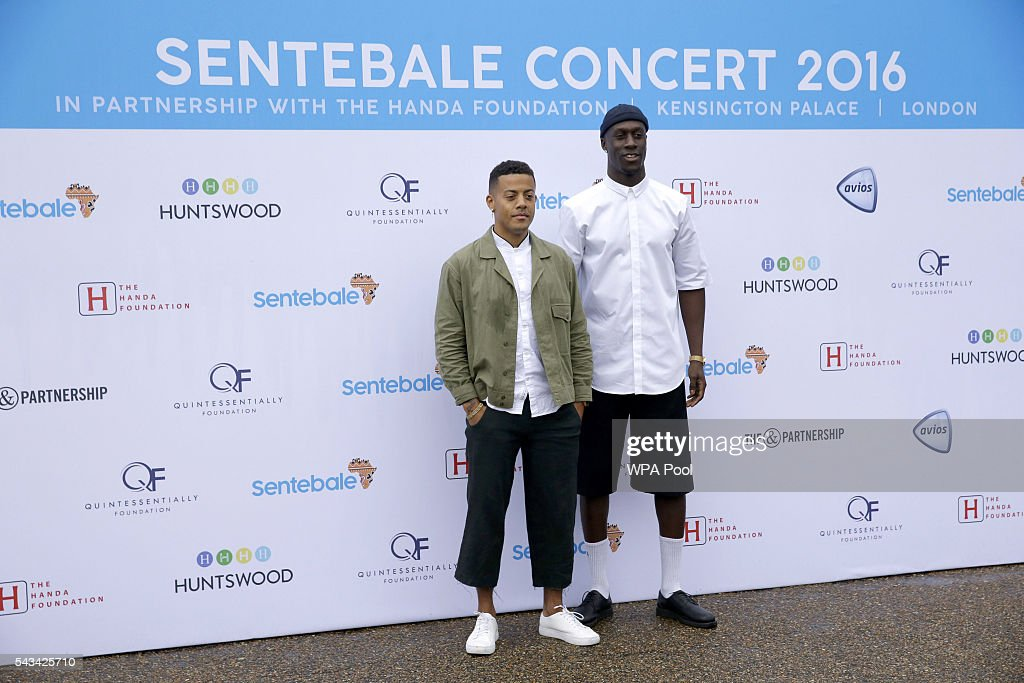 Kahouly Nicolay Sereba and Vincent Dery of Nico & Vinz attend the Sentebale Concert at Kensington Palace on June 28, 2016 in London, England. Sentebale was founded by Prince Harry and Prince Seeiso of Lesotho over ten years ago. It helps the vulnerable and HIV positive children of Lesotho and Botswana.