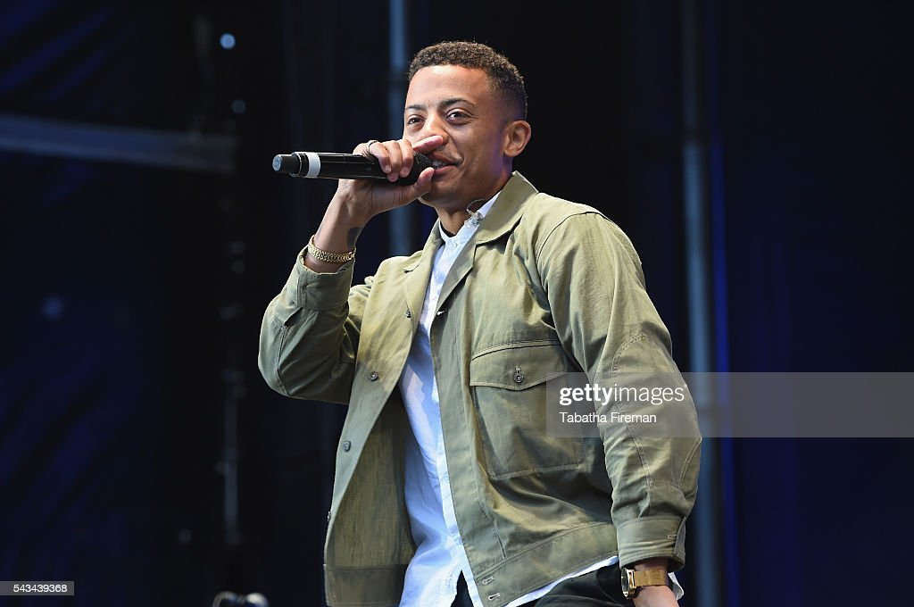 Kahouly Nicolay Sereba of Nico & Vinz performs on stage at the Sentebale Concert at Kensington Palace on June 28, 2016 in London, England. Sentebale was founded by Prince Harry and Prince Seeiso of Lesotho over ten years ago. It helps the vulnerable and HIV positive children of Lesotho and Botswana.