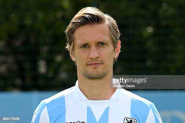 Kai Bülow poses during the official team presentation of TSV 1860 Muenchen at Trainingsgelaende on July 22 2016 in Munich Germany