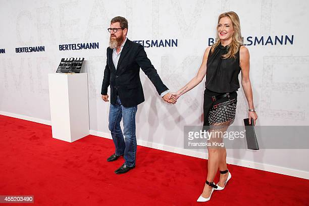 Kai Diekmann and Katja Kessler attend the Bertelsmann Summer Party at the Bertelsmann representative office on September 10 2014 in Berlin Germany