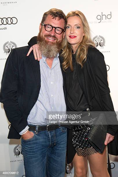 Kai Diekmann and Katja Kessler attend the True Berlin No 2 by Shan Rahimkhan Ghd on September 10 2014 in Berlin Germany