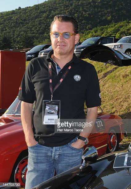 Kai Diekmann attends the 2012 Mille Miglia on May 17 2012 in Brescia Italy