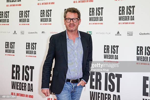 Kai Diekmann attends the 'Er ist wieder da' World Premiere on October 06 2015 in Berlin Germany
