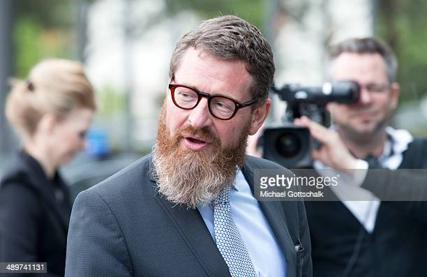 Kai Diekmann Editor in Chief of German Tabloid Bildzeitung attends the presentation of a commemorative plaque for former german chancellor Willy...