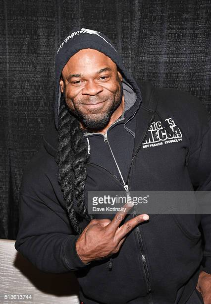 Kai Greene attends the Arnold Sports Festival 2016 on March 3 2016 in Columbus Ohio