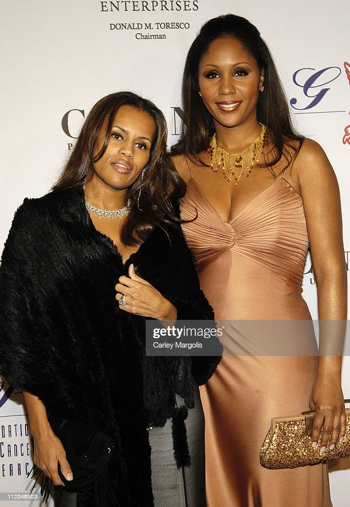 Kai Miller and Aisha Wonder during The G&P Foundation for Cancer Research 4th Annual Angel Ball at Marriott Marquis in New York City, New York, United States.
