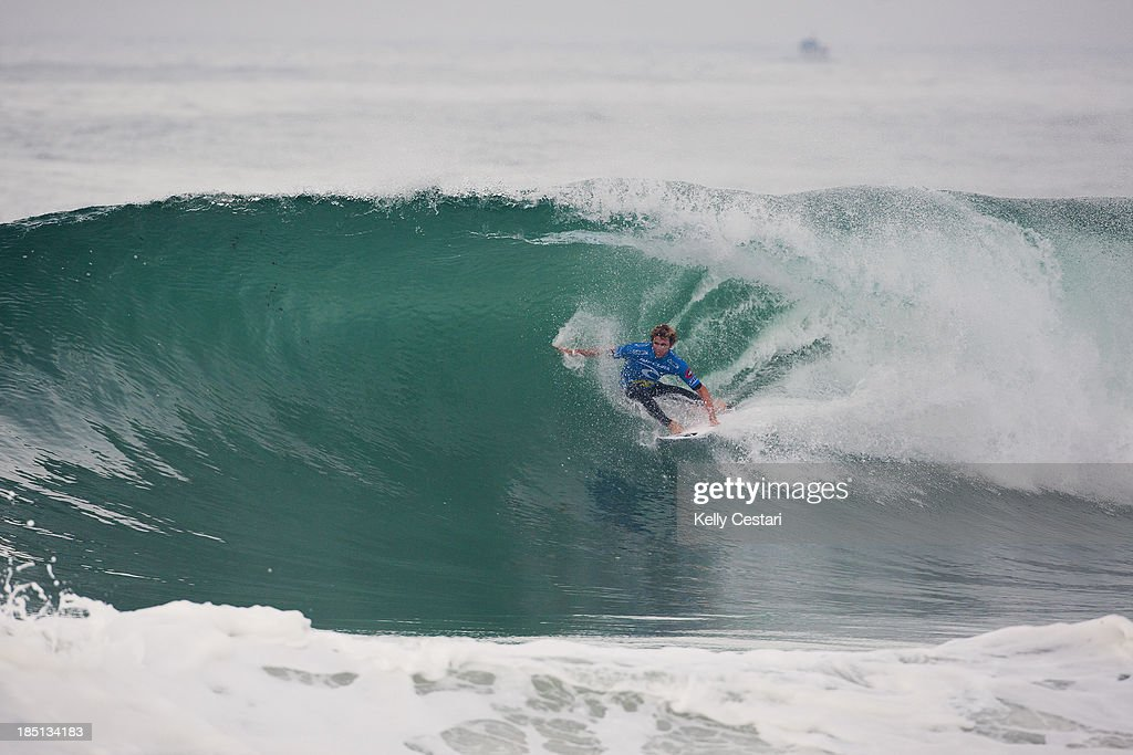 Kai Otton of Australia won the RipCurl Pro Portugal by defeating Nat Young of the United States in the final on October 17, 2013 in Peniche, Portugal.