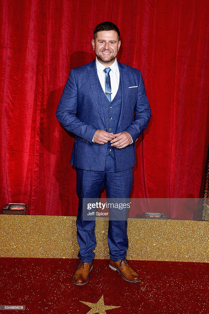 Kai Owen attends the British Soap Awards 2016 at Hackney Empire on May 28, 2016 in London, England.