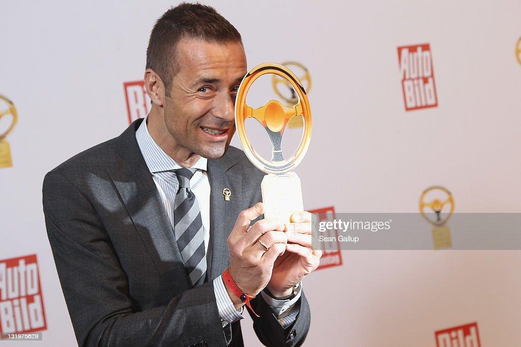 Kai Pflaume attends 'Das Goldene Lenkrad 2011' Awards at Axel-Springer Haus on November 9, 2011 in Berlin, Germany.