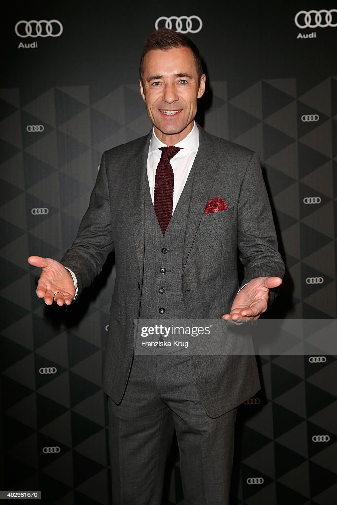 Kai Pflaume attends the AUDI Berlinale Brunch during the 65th Berlinale International Film Festival at AUDI Lounge on February 8 2015 in Berlin...