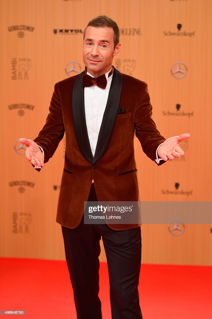 Kai Pflaume attends the Bambi Awards 2015 at Stage Theater on November 12 2015 in Berlin Germany