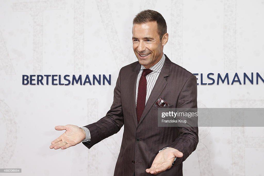 Kai Pflaume attends the Bertelsmann Summer Party at the Bertelsmann representative office on September 10 2014 in Berlin Germany