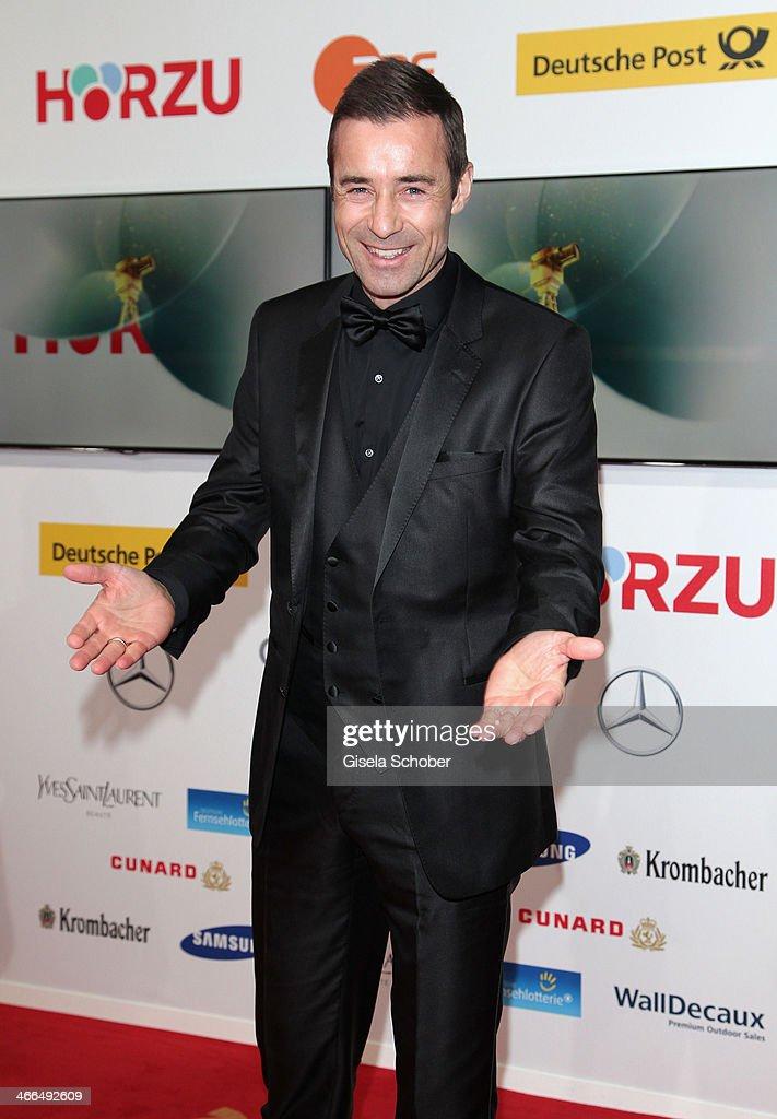 Kai Pflaume attends the Goldene Kamera 2014 at Tempelhof Airport Hangar 7 on February 1 2014 in Berlin Germany