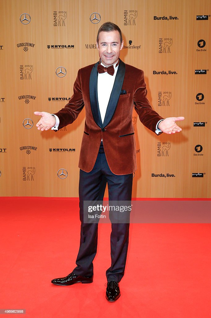 Kai Pflaume attends the Kryolan At Bambi Awards 2015 Red Carpet Arrivals on November 12 2015 in Berlin Germany