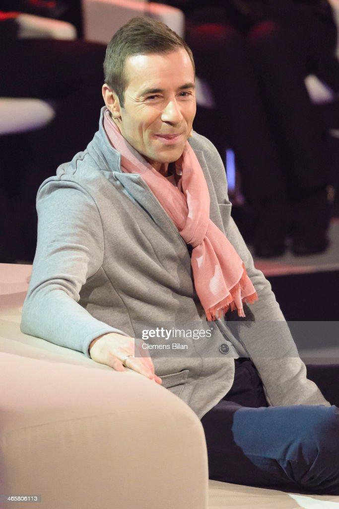 Kai Pflaume attends the taping of 'Back To School Gottschalks grosses Klassentreffen' Show on January 29 2014 in Berlin Germany