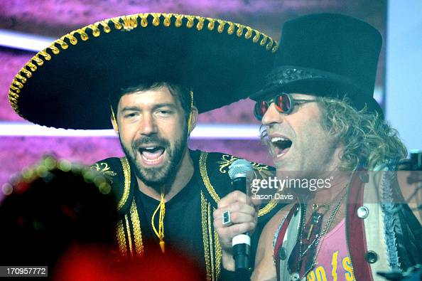 Kai Welch and Big Kenny of Electro Shine perform during the MTV VH1 CMT LOGO 2013 O Music Awards on June 20 2013 in Nashville Tennessee