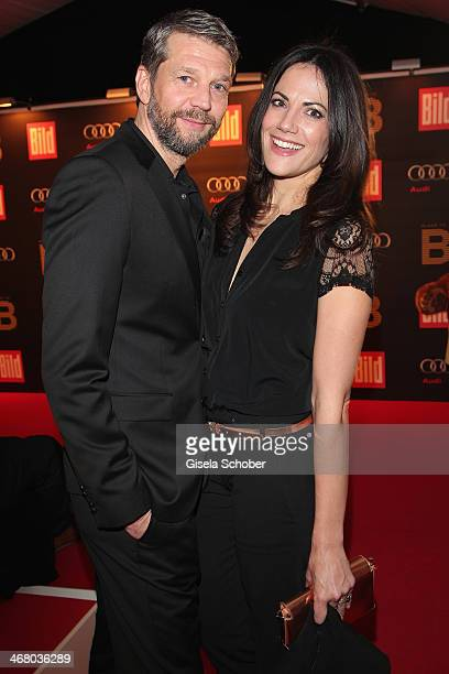 Kai Wiesinger and Bettina Zimmermann attend the Bild 'Place to B' Party during the 64th Berlinale International Film Festival on February 8 2014 in...