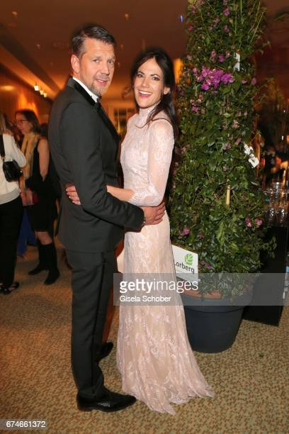 Kai Wiesinger and his girlfriend Bettina Zimmermann during the Lola German Film Award after party at Palais am Funkturm on April 28 2017 in Berlin...
