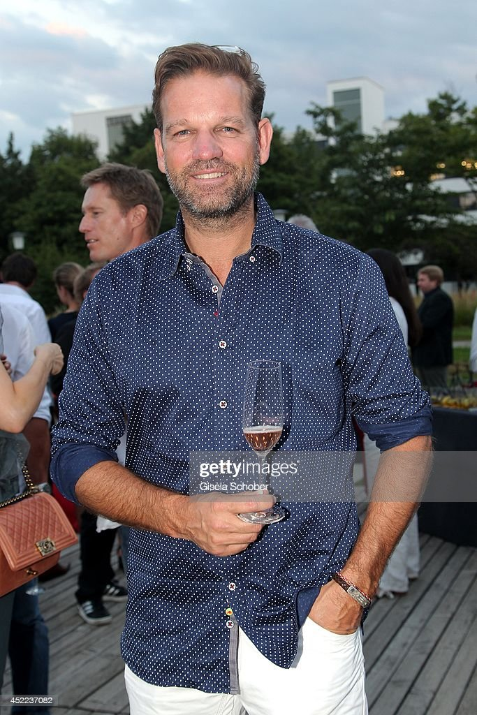 Kai Woersching attends the Norbert Dobeleit 50th birthday party at Stromberg Kutchiin on July 16, 2014 in Munich, Germany.
