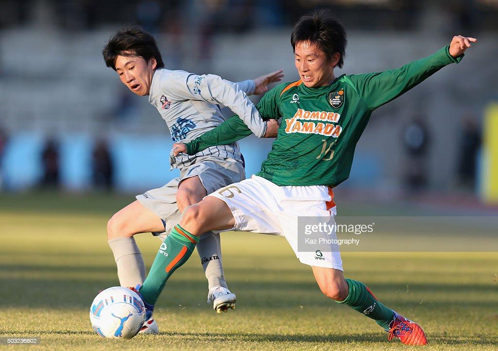 Aomori Yamada v Seiwa Gakuen - 94th All Japan High School Soccer Tournament 2nd Round