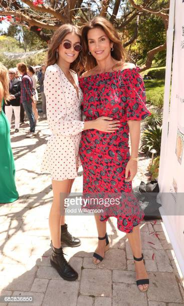 Kaia Gerber and Cindy Crawford attend Mother's Day Weekend Brunch Hosted By Best Buddies Global Ambassador Cindy Crawford And Daughter Kaia Gerber on...