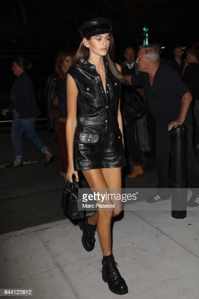 Kaia Gerber is seen on September 7 2017 in New York City