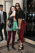 Celebrity Sightings : Paris Fashion Week Womenswear...