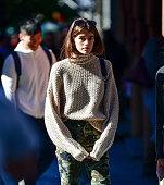 Celebrity Sighting In New York City - October 20, 2017