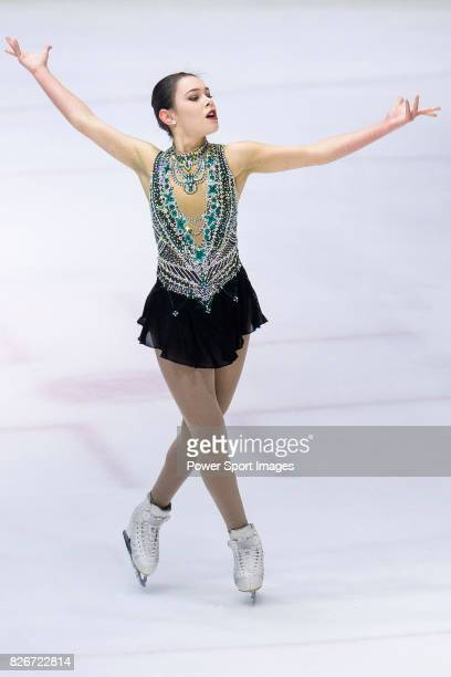 Kailani Craine of Australia competes in Senior Ladies group during the Asian Open Figure Skating Trophy 2017 on August 05 2017 in Hong Kong Hong Kong