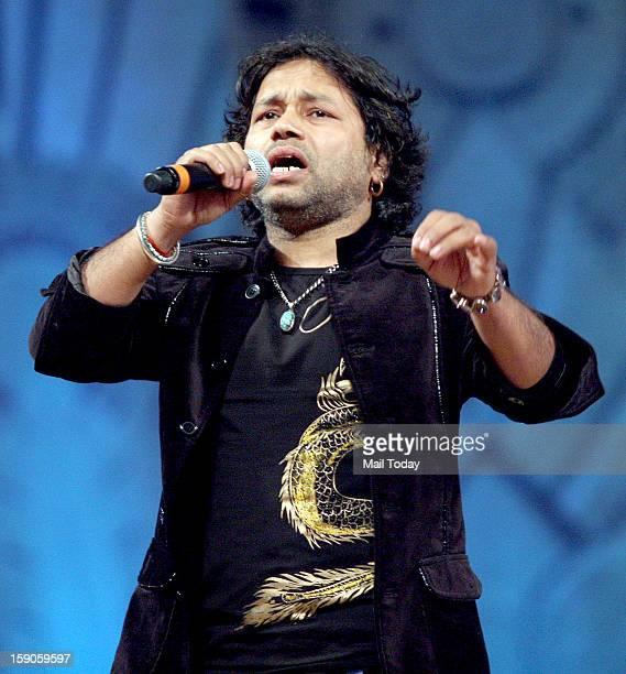 Kailash Kher at Mumbai Police Show UMANG 2013 at Andheri Sports Complex in Mumbai on Saturday
