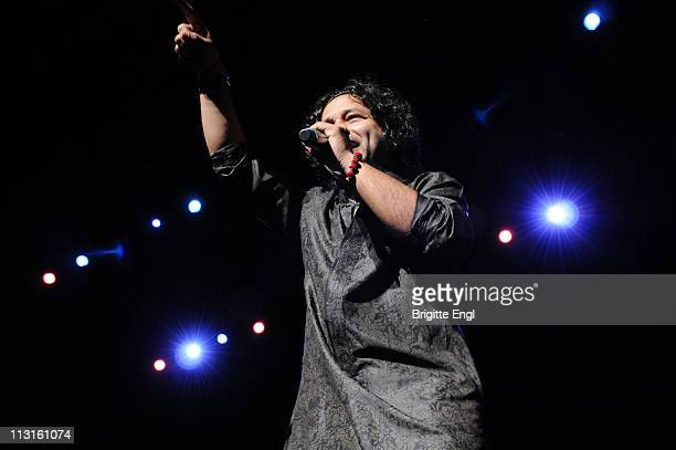 Kailash Kher performs on stage during Alchemy Festival at the Royal Festival Hall on April 25 2011 in London United Kingdom