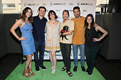 Kaily Smith Westbrook Jason Ritter Melanie Lynskey Aaron Yoo Justin Klosky and Randi Kleiner arrive at Sie FilmCenter on June 25 2016 in Denver...
