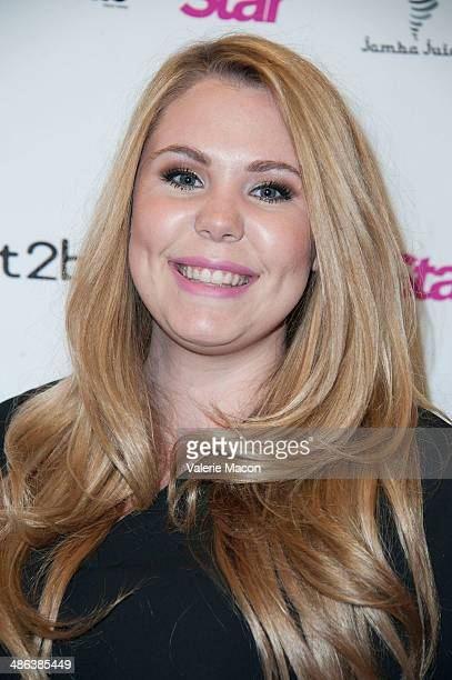 Kailyn Lowry arrives at Star Magazine Hollywood Rocks 2014 at SupperClub Los Angeles on April 23 2014 in Los Angeles California