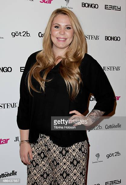 Kailyn Lowry attends Star Magazine's 'Hollywood Rocks' party 2014 at SupperClub Los Angeles on April 23 2014 in Los Angeles California