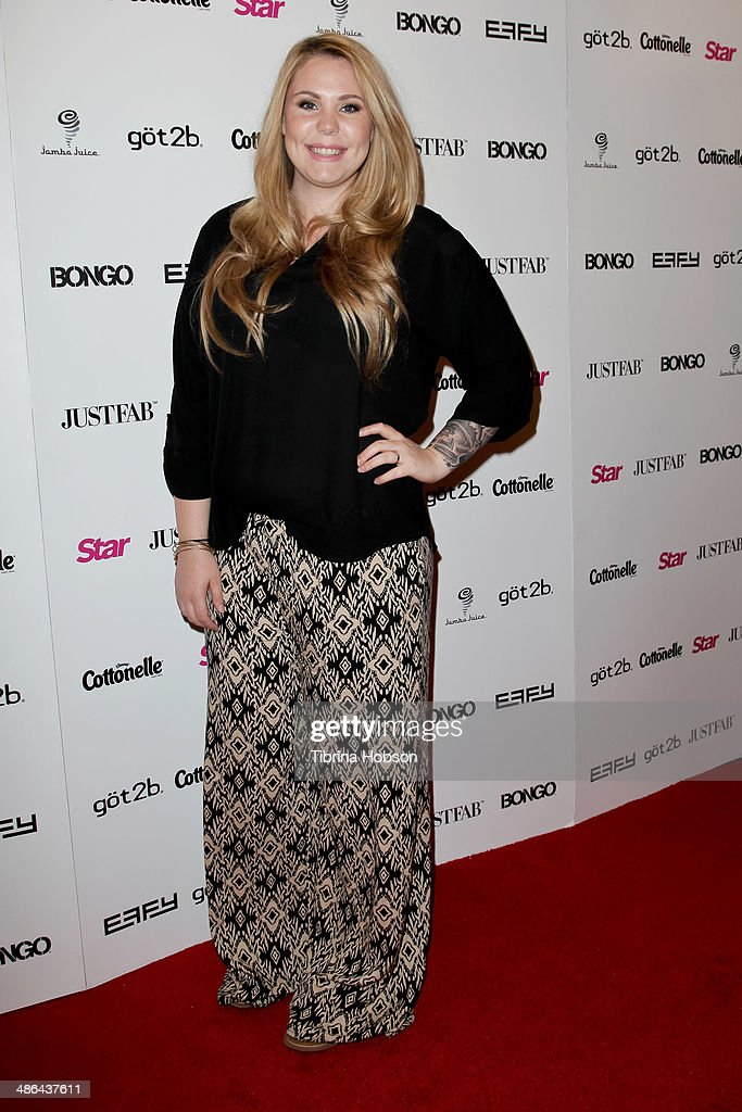 <a gi-track='captionPersonalityLinkClicked' href=/galleries/search?phrase=Kailyn+Lowry&family=editorial&specificpeople=8710153 ng-click='$event.stopPropagation()'>Kailyn Lowry</a> attends Star Magazine's 'Hollywood Rocks' party 2014 at SupperClub Los Angeles on April 23, 2014 in Los Angeles, California.