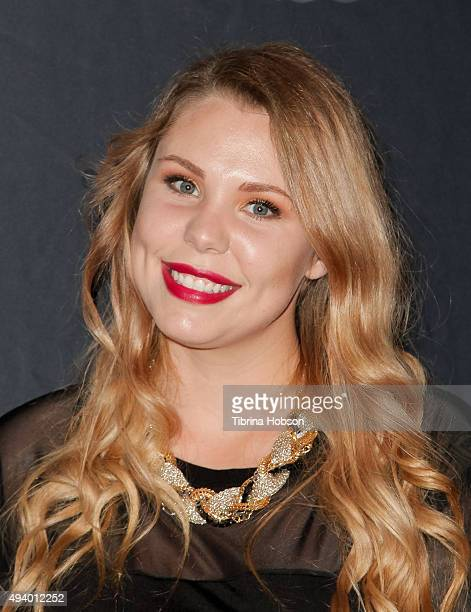Kailyn Lowry attends Star Magazine's Scene Stealers party at W Hollywood on October 22 2015 in Hollywood California