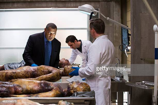 HANNIBAL 'Kaiseki' Episode 201 Pictured Laurence Fishburne as Jack Crawford