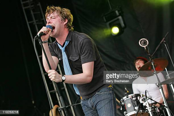 Kaiser Chiefs during Lollapalooza 2005 Day One at Grant Park in Chicago Illinois United States