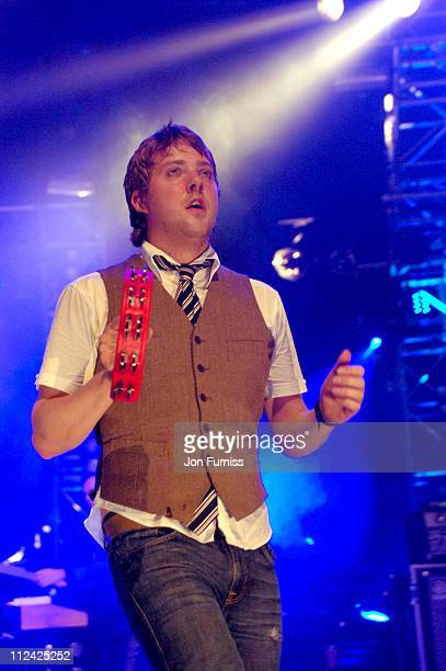 Kaiser Chiefs during O2 NME Riot Tour October 27 2005 at Brixton Academy in London Great Britain
