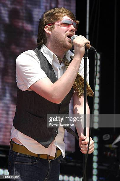 Kaiser Chiefs during T4 On the Beach Concert June 19 2005 at Weston Super Mare in Weston Super Mare Great Britain