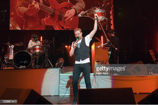 Kaiser Chiefs performs on the fifth night of the annual Teenage Cancer Trust concerts